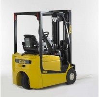 Electric three-wheel forklifts