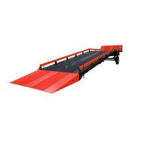 Mobile loading container ramps