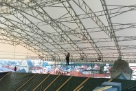 Dar vienas laikinas stogas  – Sostinėje