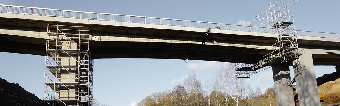 Tilto per Jiesios upę remontas