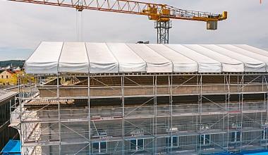 Laikino stogo projektai