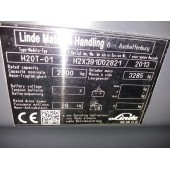 Dujinis krautuvas Linde H20T H2X391D02821