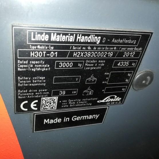 Dujinis krautuvas Linde H30T H2X393C00219