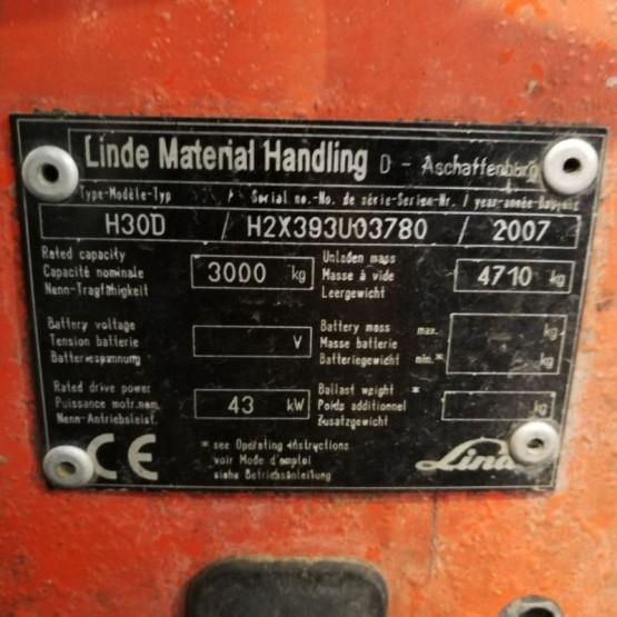 Linde H30D