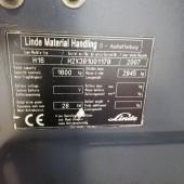 Dujinis krautuvas Linde H16T H2X391U01179