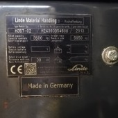 Dujinis krautuvas Linde H35T EVO H2X393D54688