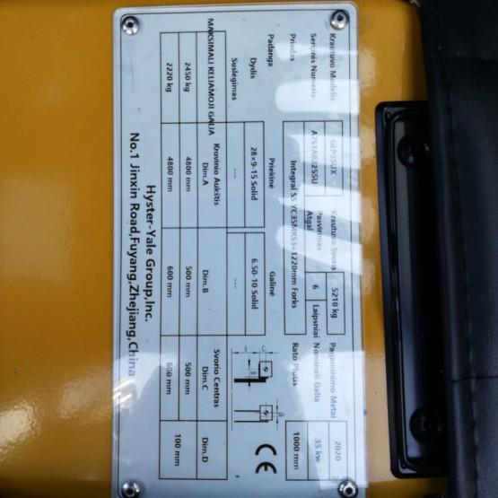 Dujinis krautuvas Yale GLP35UX A7S1A02255U
