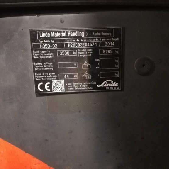Dyzelinis krautuvas Linde H35D H2X393E04571