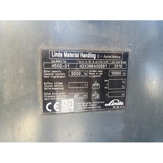 Linde H50D $$H2X396A00561
