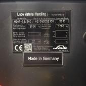 Dujinis krautuvas Linde H20T-600 H2X392D52100