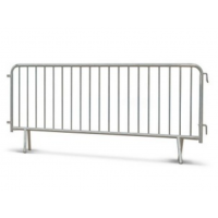 Fence barriers 2.5 x 1.1 m