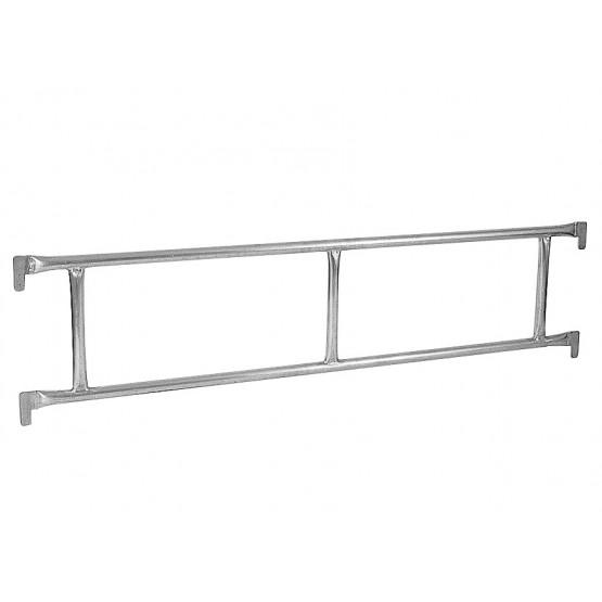 Double steel railing 4,14m