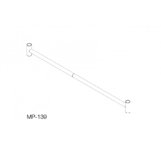 Stiffening coupler 1,80m