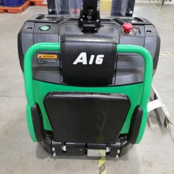 Elektrinis aukštai keliantis palečių vežimėlis Hangcha CDD16-AC1S-LI R4BJ00104