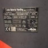 Dujinis krautuvas Linde H20T-600 H2X392F01102
