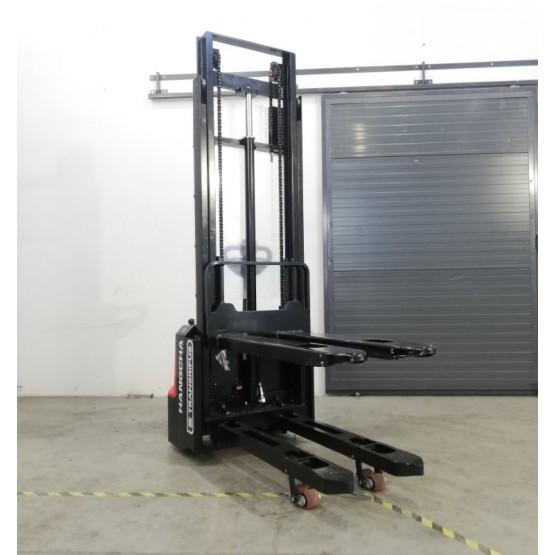 Elektrinis aukštai keliantis palečių vežimėlis Hangcha CDD12 3m I7BJ07211