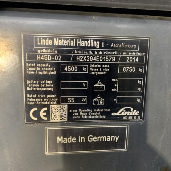 Dyzelinis krautuvas Linde H45D H2X394E01579