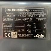 Dyzelinis krautuvas Linde H50D-01 H2X394B01204
