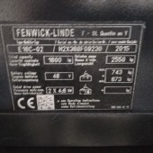 Elektrinis krautuvas Linde E 16C-02 H2X386F09230