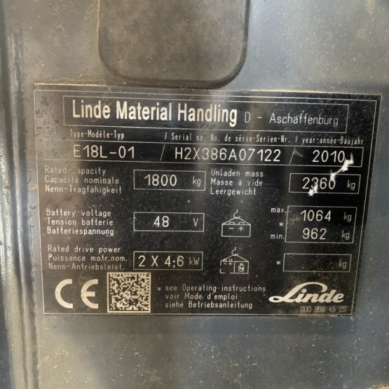 Linde E18L