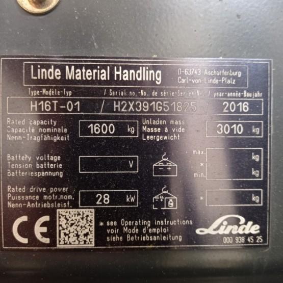 Dujinis krautuvas Linde H16T H2X391G51825