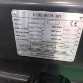 Elektrinis šakinis krautuvas Hangcha CPD18-AEY2-I R8BA03778