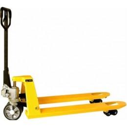 Rankinis palečių  vežimėlis 1150mm guminiais ratukais