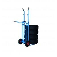 Padangų transportavimo vežimėlis