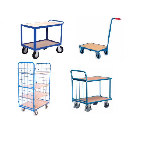 Dviaukštis transportavimo vežimėlis