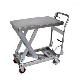 Nerūdijančio plieno kėlimo stalas