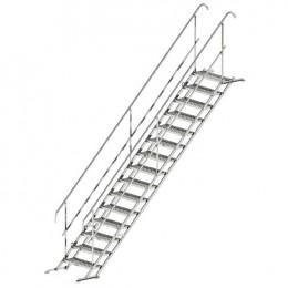 Laikini laiptai 3 pakopų