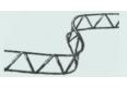 Tarparmatūrinis fiksatorius 2m 130mm