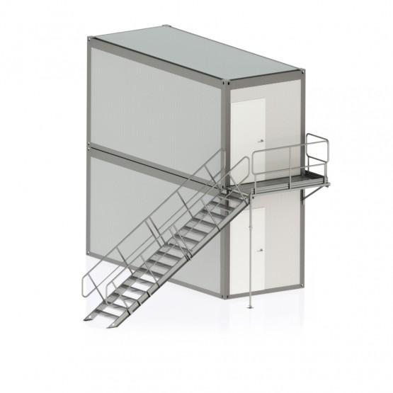 Laiptinė konteinerinėms patalpoms var. 1
