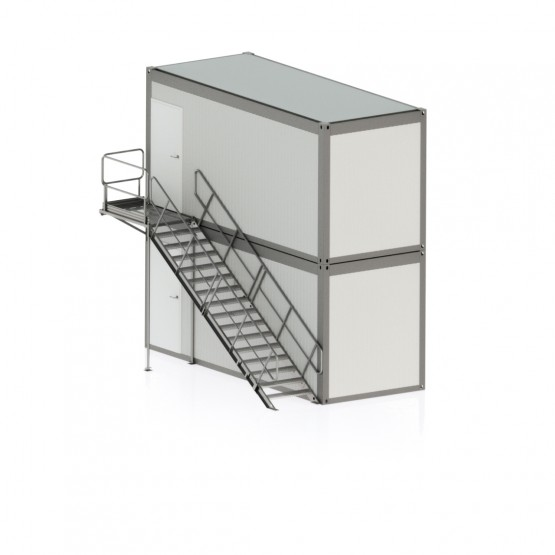 Laiptinė konteinerinėms patalpoms var. 4