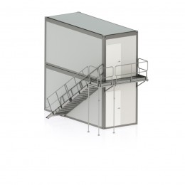 Laiptinė konteinerinėms patalpoms var. 3