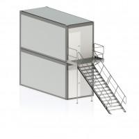 Laiptinė konteinerinėms patalpoms var. 8