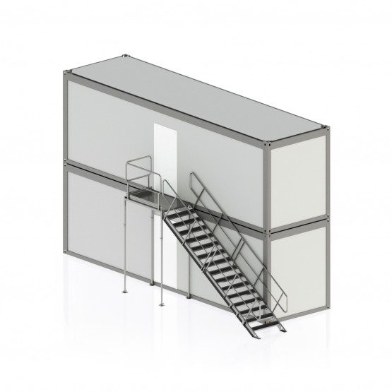Laiptinė konteinerinėms patalpoms var. 10