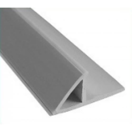 Plastikinis trikampis kampams su užlaida 2,5m 10mm
