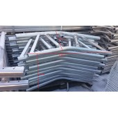 Roof top beam  0.6x1.6 m. ALU.