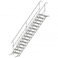Временные лестницы 15 ступеней