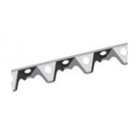 Plastic rebar spacer for slab 2m 20mm
