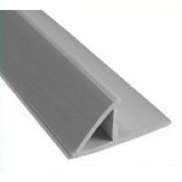 Plastikinis trikampis kampams su užlaida 2,5m 15mm