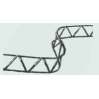 Rebar mesh spacer 2m 160mm