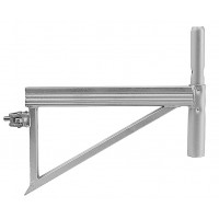 Steel bracket with clamp  0,50m