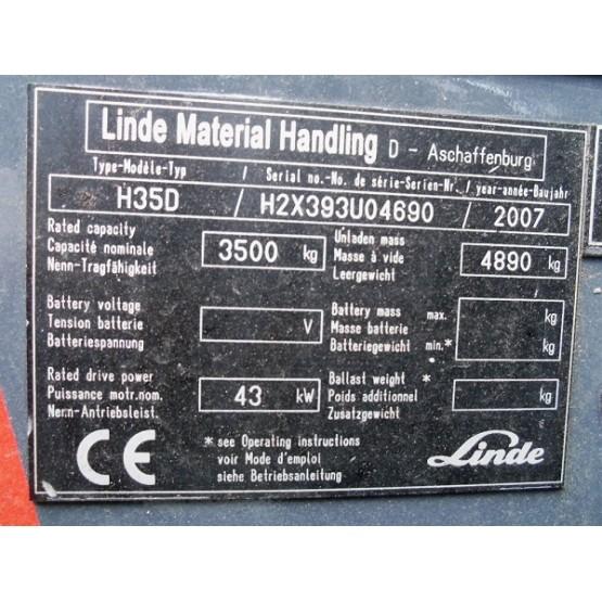 Linde H35D 393