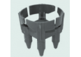 Armatūros fiksatorius perdangai 40mm