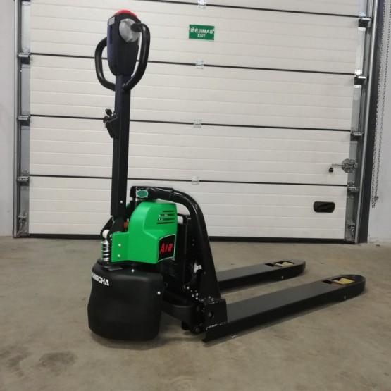 Elektrinis palečių vežimėlis Hangcha CBD12 (li-ion) 1200kg