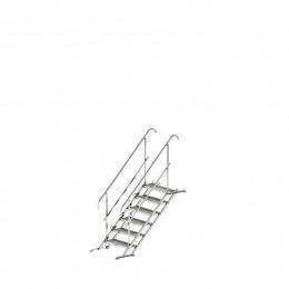 Laikini laiptai 6 pakopų