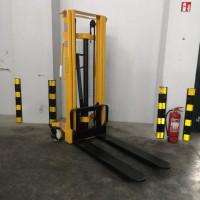 Rankinis aukštai keliantis palečių vežimėlis WMS10-1600