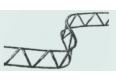 Арматурный сеть проставка 2м 100мм